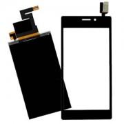 Ekranas Sony D2303 / D2305 / S50H Xperia M2 su lietimui jautriu stikliuku HQ
