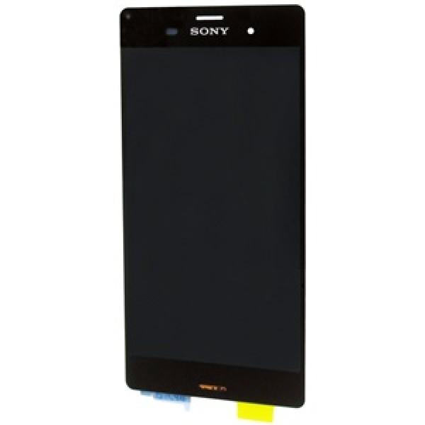 Ekranas Sony D6603 / Xperia Z3 su lietimui jautriu stikliuku HQ Juodas